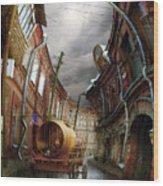 The Last Vagrant Wood Print