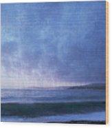 Last Light On Carmel Bay Wood Print