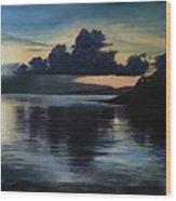 Last Look At Lusias Lagoon Wood Print