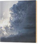 Last Nebraska Supercell Of The Summer 038 Wood Print