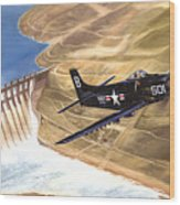 Last Of The Dambusters Wood Print by Marc Stewart