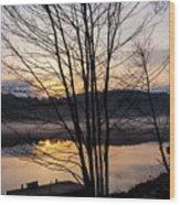 Spring Sunset - New Beginnings Coming Wood Print