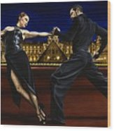 Last Tango In Paris Wood Print