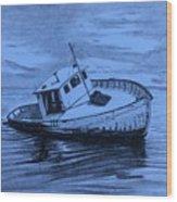 Last Voyage  Wood Print