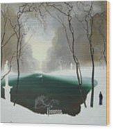 Last Winter Wood Print