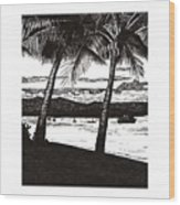 Late Afternoon At Dunk Island Wood Print