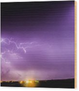 Late July Storm Chasing 082 Wood Print