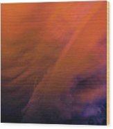 Late Night Nebraska Shelf Cloud 009 Wood Print