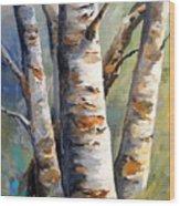 Late November Wood Print