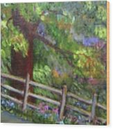 Late Summer At Pennypack Preserve Wood Print