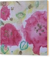 Late Summer Rose I Rosarie Wood Print