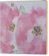 Late Summer Rose II Wood Print