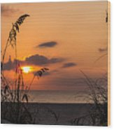 Late Sunrise 3 Wood Print