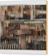 Lathe Wood Print