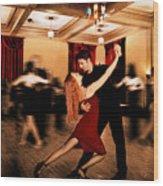 Latin Dance Wood Print