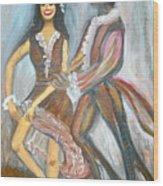 Latin Dancers 1 Wood Print