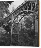 Latourell Bridge Wood Print
