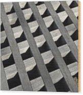 Lattice Wood Print