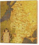 Latvia And Lithuania Wood Print