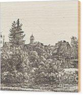 Lauban In Silesia Wood Print