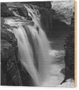 Laugafell Mountain Lodge Waterfalls Iceland 3146 Wood Print