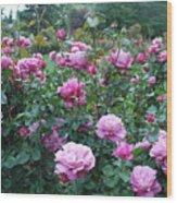 Laugerfeld Roses Wood Print