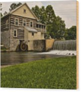 Laughlin Mill  Wood Print