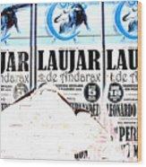 Laujar Fight Wood Print