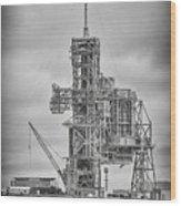 Launch Pad 39a Wood Print