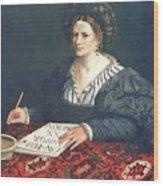 Laura Pisani 1525 Wood Print