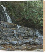 Laurel Falls 2 Wood Print