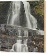 Laurel Falls Wood Print