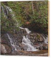 Laurel Falls Six Wood Print
