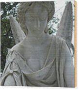 Laurel Grove Angel #1 Wood Print