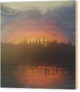 Laurel Lake Wood Print