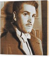 Laurence Olivier, Movie Legend Wood Print