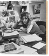 Laurie Colwin, Author Of A First Wood Print