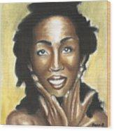 Lauryn Hill Wood Print