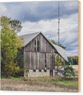 Lautner Barn Wood Print