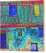 Lautrec Magic France Wood Print