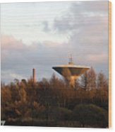 Lauttasaari Water Tower Wood Print