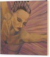 Lavendar Ballet Wood Print