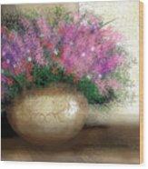 Lavender Bouquet Wood Print