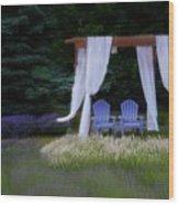 Lavender Breeze Wood Print