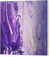 Lavender Cascades In The Purple Mountains Wood Print