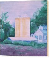 Lavender Farm Albuquerque Wood Print