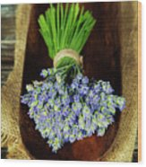Lavender Flower  Wood Print