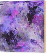 Lavender Gardens Wood Print