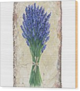 Lavender II Wood Print