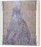 Lavender Lady Wood Print